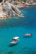Northeastern Aegean Islands Prints - Fishing boats 2  Print by Emmanuel Panagiotakis