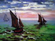 Peter Kupcik - Fishing Boats at Sea