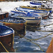 Randy Sprout - Fishing Boats in Procida