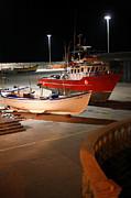 Gaspar Avila - Fishing boats on dry dock