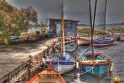 Montpellier Prints - Fishing Boats Print by Rod Jones