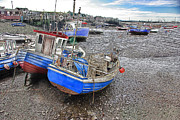 River Tees Prints - Fishing Fleet - Paddys Hole Print by Trevor Kersley