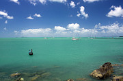 Whitsunday Photos - Fishing In Paradise by Kevin Dickinson