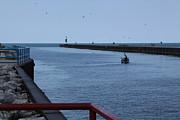 Jim Vansant - Fishing in the South Haven Breakwater