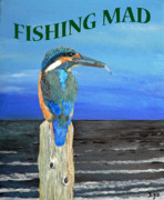 Eftalou Art - Fishing Mad by Eric Kempson