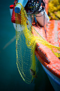 Old Door Photos - Fishing nets  by Emmanuel Panagiotakis