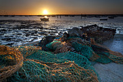 5d Mkii Framed Prints - Fishing Nets Framed Print by Mark Harrop