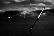 Angling Art - Fishing On The County Antrim Coast Northern Ireland by Joe Fox