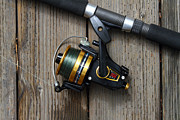 Gone Fishing Photos - Fishing Rod and Reel . 7D13542 by Wingsdomain Art and Photography