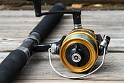 Gone Fishing Photos - Fishing Rod and Reel . 7D13547 by Wingsdomain Art and Photography