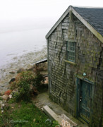 North Shore Prints - Fishing Shack Rockport Massachusetts Print by Michelle Wiarda