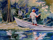 Julianne Felton - Fishing Spruce Creek