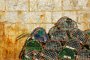 Dock Photos - Fishing Traps by Carlos Caetano