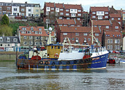 River Esk Prints - Fishing Trawler - Whitby Print by Rod Johnson