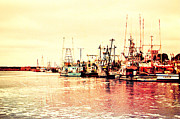 Morro Bay Framed Prints - Fishing Village Framed Print by Heidi Smith