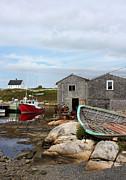 Fishing Village In Nova Scotia Print by Kristin Elmquist