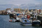 Trawler Metal Prints - Fishing Village Metal Print by Joe Burns