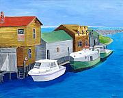 Fishtown Print by Rodney Campbell