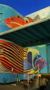 Mural Photos - Fishy Fish by Skip Hunt