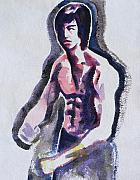 Bruce Lee Painting Originals - Fist of Fury by Abin Raj