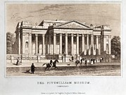Cambridge Framed Prints - Fitzwilliam Museum Cambridge, 1848 Framed Print by Paul D Stewart