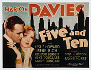 Embracing Posters - Five And Ten, Leslie Howard, Marion Poster by Everett