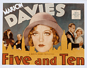 1931 Movies Framed Prints - Five And Ten, Marion Davies, Richard Framed Print by Everett
