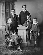 1880s Photos - Five Children Of President James by Everett