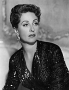 1952 Movies Photo Framed Prints - Five Fingers, Danielle Darrieux, 1952 Framed Print by Everett