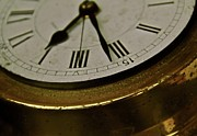 Clock Hands Photo Prints - Five Sixteen Twenty Print by Odd Jeppesen