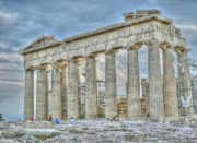 Acropolis Photo Posters - Fixer Upper Poster by David Bearden
