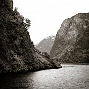 Scandinavia Prints - Fjord Beauty Print by David Bowman