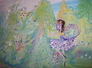 Fjord Paintings - Fjord Fairies by Judith Desrosiers