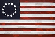 Flag - Constitution Print by Kelvin Kelley