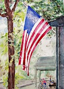 Patriotic Paintings - Flag Day by Regina Ammerman