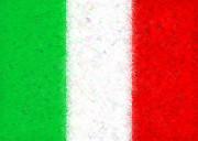 Italian Flag Posters - Flag of Italy Poster by Cristopher