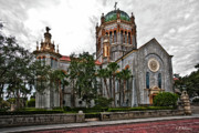 Flagler Memorial Presbyterian Church 2 Print by Christopher Holmes