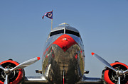 Douglas Dc-3 Photos - Flagship Detroit work number four by David Lee Thompson