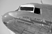 American Airlines Prints - Flagship Detroit work number seven Print by David Lee Thompson