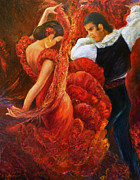 Sylva Zalmanson - Flamenco couple 2