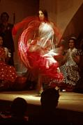 Spanish Dancer Photos - Flamenco Dancer in Seville by Carl Purcell