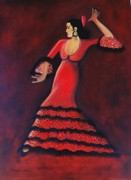 Janine Antulov - Flamenco Dancer
