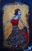Flamenco Dancer Print by Jonathan E Raddatz