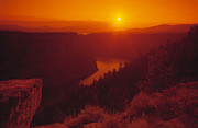 Flaming Posters - Flaming Gorge National Recreation Area Utah Poster by Utah Images