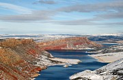 Tom Liesener Acrylic Prints - Flaming Gorge Acrylic Print by Tom Liesener