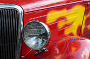 Hot Rod Flames Framed Prints - Flaming Hot Framed Print by Bob Christopher