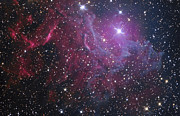 Aurigae Prints - Flaming Star Nebula In Auriga Print by Don Goldman
