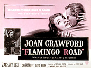 Mink Framed Prints - Flamingo Road, Joan Crawford, David Framed Print by Everett
