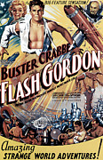 Pos Prints - Flash Gordon, Jean Rogers, Buster Print by Everett