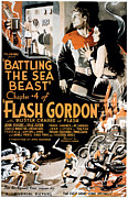 Pos Prints - Flash Gordon, Larry Buster Crabbe Print by Everett